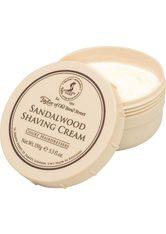 TAYLOR OF OLD BOND STREET - Taylor of old Bond Street Herrenpflege Sandelholz-Serie Shaving Cream Tiegel 150 ml - Rasierschaum & Creme