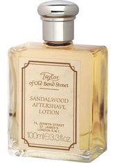 TAYLOR OF OLD BOND STREET - Taylor of old Bond Street Herrenpflege Sandelholz-Serie After Shave Lotion 100 ml - Aftershave