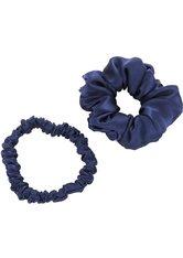 AILORIA Haargummi »DOUX Set Scrunchie S and M blau«, Set, 2-tlg., 100 % Seide