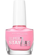 MAYBELLINE - MAYBELLINE NEW YORK Nagellack »Superstay 7 Days«, rosa, Nr. 120 flushed pink - NAGELLACK