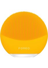 FOREO LUNA Mini 3 Dual-Sided Face Brush for All Skin Types (Various Shades) - Sunflower Yellow