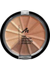 Manhattan 3in1 Shimmer Bronzingpuder 9.9 g Nr. 001 - Gold Shimmer