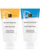 CHIARA AMBRA - CHIARA AMBRA ® , »Bernstein Anti-Aging Tages- & Nachtcreme«, Gesichtspflege-Set, 50 ml, 2-tlg. Set - TAGESPFLEGE