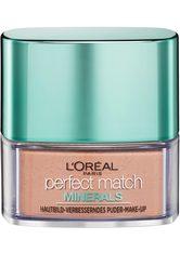 L'ORÉAL PARIS L'Oréal Paris, »Perfect Match Minerals Puder«, Make-up, natur, 10g, 3N Creme Beige - L'ORÉAL PARIS