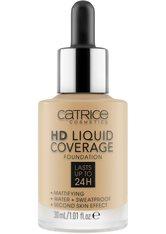 Catrice Teint Make-up HD Liquid Coverage Foundation Nr. 034 Medium Beige 30 ml