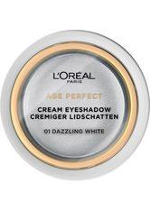 L'Oréal Paris Age Perfect Cream Lidschatten 6 g Nr. 01 - Dazzling White
