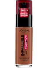 L'Oréal Paris Infaillible 24H Fresh Wear Make-up 375 Deep Amber Foundation 30ml Flüssige Foundation