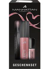MANHATTAN - Manhattan Geschenkset Gesicht Make-up Set  Rosy Nude - MAKEUP SETS
