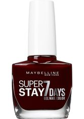 Maybelline Super Stay Forever Strong 7 Days Nagellack  Nr. 287 - Midnight Red