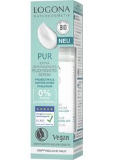 Logona Pur Extra beruhigendes Feuchtigkeits-Serum mit Probiotika & natürlichem Hyaluron Gesichtspflege 30.0 ml
