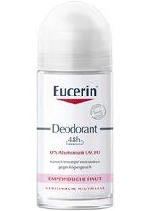 Eucerin Produkte Eucerin Deodorant 24h Roll-on für empfindliche Haut 0% Aluminium (ACH),50ml Körperpflegeduft 50.0 ml