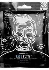 BARBER PRO Gesichtsmaske »Face Putty™« Set, 3-tlg., Black Peel-Off Reinigungsmaske mit Tiefenwirkung