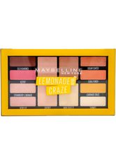 MAYBELLINE - MAYBELLINE NEW YORK Lidschatten-Palette »Lemonade Bar«, Hochpigmentierte Farben - Lidschatten