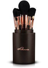 LUVIA COSMETICS - Luvia Cosmetics Kosmetikpinsel-Set »Golden Queen«, 15 tlg., vegan - MAKEUP PINSEL