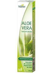 HÜBNER - Anton Hübner GmbH & Co. KG Nachtcreme »Aloe Vera«, 50 ml - NACHTPFLEGE