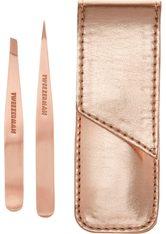 TWEEZERMAN - Tweezerman Studio Collection Rose Gold 1 Augenbrauenpflegeset  1 Stk - MAKEUP ACCESSOIRES