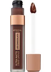 L'ORÉAL PARIS - L'Oréal Paris Les Chocolats Ultra Matte Liquid Lipstick (verschiedene Farbtöne) - 856 70% Yum - LIQUID LIPSTICK