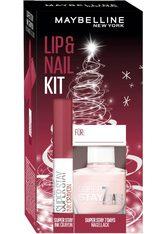 MAYBELLINE - MAYBELLINE NEW YORK Geschenk-Set »Lip & Nail Geschenkset - Change is Good«, 2-tlg. - MAKEUP SETS
