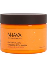 Ahava Deadsea Plants Caressing Body Sorbet Mandarin & Cedarwood 350 g Körpergel