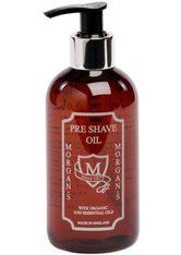 MORGAN'S - Morgan's Rasieröl »Pre Shave Oil«, bereitet die Haut auf die Rasur vor, braun, 250 ml, braun - PRE SHAVE