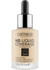 CATRICE - Catrice Teint Make-up HD Liquid Coverage Foundation Nr. 005 Ivory Beige 30 ml - Foundation