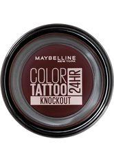 Maybelline Color Tattoo 24HR Groundbreaker Lidschatten  3.5 ml Nr. 160 - Knockout