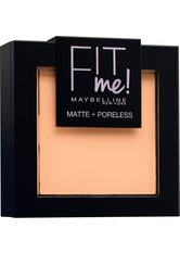 MAYBELLINE - Maybelline Fit Me Matte & Poreless Powder (verschiedene Farbtöne) - 102 Fair Ivory - Gesichtspuder