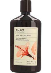 Ahava Körperpflege Mineral Botanic Hibiskus & Feige Creme Dusche 500 ml