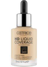 Catrice Teint Make-up HD Liquid Coverage Foundation Nr. 037 Golden Beige 30 ml