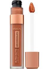 L'Oréal Paris Les Chocolats Ultra Matte Liquid Lipstick (verschiedene Farbtöne) - 860 Ginger Bomb