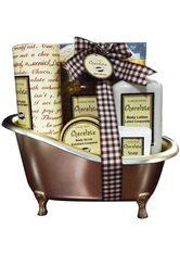 GLOSS! - GLOSS! Geschenk-Set, 6-tlg., braun, 590 ml, braun - KÖRPERPEELING