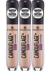 ESSENCE - Essence Concealer »CAMOUFLAGE+ MATT«, 3-tlg. - Concealer