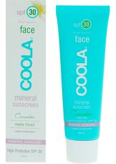 COOLA - Mineral Face SPF 30 Matte Cucumber - TAGESPFLEGE