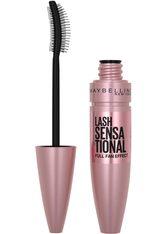 MAYBELLINE NEW YORK Mascara »Lash Sensational«, extrem schwarze Pigmente, schwarz, Intense Black