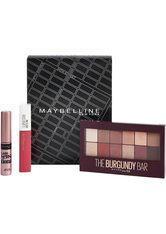 MAYBELLINE - MAYBELLINE NEW YORK Make-up Set »Lidschatten und Lippenstift mit gratis Mini Mascara«, 3-tlg. - LIPPENSTIFT