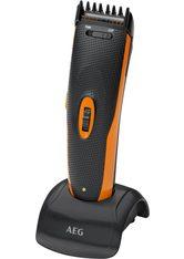 AEG - AEG Bartschneider HSM/R 5597, Haar-/ Bartschneider und Nasen-/Ohrhaarentferner in Einem, schwarz, schwarz-orange - RASIER TOOLS