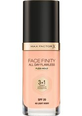 MAX FACTOR - Max Factor Face Finity All Day Flawless 3 in 1 Foundation 40 Light Ivory 30 ml - FOUNDATION