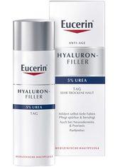 Eucerin Hyaluron-Filler Urea Tagespflege Creme + gratis Eucerin UreaRepair PLUS Lotion 10% (150 ml) 50 Milliliter