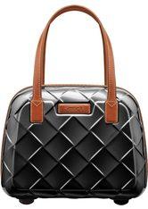STRATIC - Stratic Beauty Case, »Leather & More«, schwarz, Black - KOSMETIKTASCHEN & KOFFER
