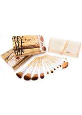 LUVIA COSMETICS - Luvia Cosmetics Kosmetikpinsel-Set »Bamboo's Root«, 12 tlg., vegan - MAKEUP PINSEL