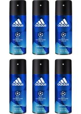 adidas Performance Deo-Spray »UEFA 6 Dare Edition«, Spar-Set, 6-tlg., für Männer