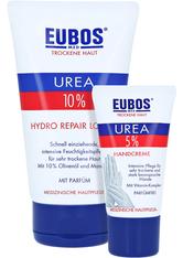 Eubos Trockene Haut Urea 10% Hydro Repair Lotion + gratis Eubos Handcreme 5% Urea 25 ml 150 Milliliter