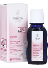 WELEDA - Weleda Mandel Wohltuendes Gesichtsöl 50 ml - Tages- und Nachtpflege - GESICHTSÖL