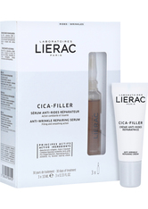 LIERAC CICA-FILLER reparierendes Anti-Falten Serum + gratis Cica Filler Creme Mini 3x10 Milliliter