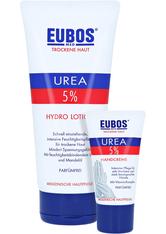 Eubos Trockene Haut Urea 5% Hydro Lotion + gratis Eubos Handcreme 5% Urea 25 ml 200 Milliliter