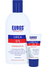Eubos Trockene HAUT Urea 10% Körperlotion + gratis Eubos Handcreme 5% Urea 25 ml 200 Milliliter