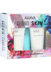 Ahava Körperpflege Deadsea Water Celebrate Your Skin Set Mineral Body Lotion 40 ml + Mineral Hand Cream Sea-Kissed 40 ml + Mineral Shower Gel 40 ml 1 Stk.