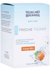 HILDEGARD BRAUKMANN - Hildegard Braukmann BODY CARE Orange Mint Frische Tücher 10 Stück - TAGESPFLEGE