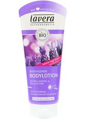 Lavera Körperpflege Body SPA Body Lotion und Milk Bio-Lavendel & Bio-Aloe Vera Beruhigende Body Lotion 200 ml