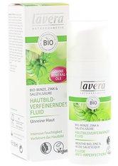 lavera Bio - Minze Minze - Hautbildverfeinerndes Fluid 50ml Gesichtsfluid 50.0 ml